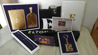 Elton John Farewell Yellow Brick Road Rocketman Gift Set Package VIP SET • 34£