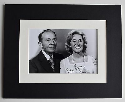 Vera Lynn Signed Autograph 10x8 Photo Display Forces Sweetheart Music AFTAL COA • 29.99£