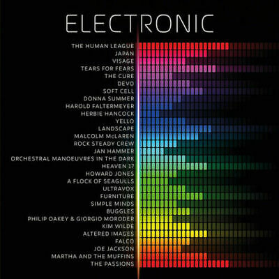Various ‎– Electronic [New & Sealed] 12  Vinyl • 14.99£