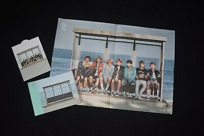 BTS You Never Walk Alone Album(Photobook+CD+Photocard+Poster+Exclusive Standee) • 20£