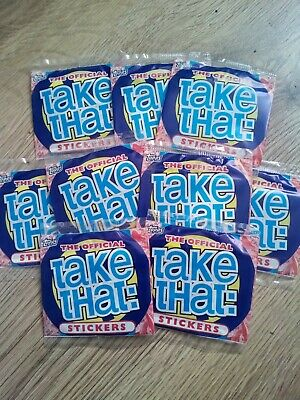 Official Take That Sticker Pack - 1994 - Rare • 3£