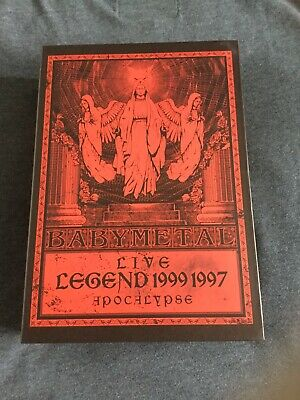 Babymetal Live Legend 1999 1997 Apocalypse The One Blu Ray Box Set • 229.95£