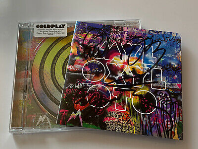 Coldplay - Mylo Xyloto 2011 CD Album  Fully ( SIGNED AUTOGRAPHED ) By Coldplay • 30£