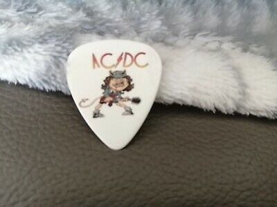 AC/DC Guitar Pick Plectrum Double Sided ANGUS YOUNG ACDC  • 5£