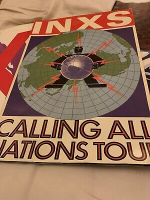 INXS - Calling All The Nations Tour Programme 1988 • 22£