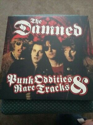 The Damned Punk Oddities &rare Tracks Double Album Splatter Vinyl • 14.99£