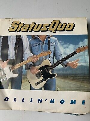 Status Quo - Rollin' Home 7  Vinyl Single Record P/S • 4.99£