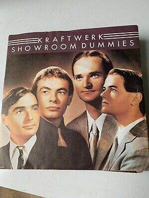 Kraftwerk - Showroom Dummies  7  Vinyl • 4.99£