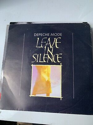 DEPECHE MODE - Leave In Silence 7  Vinyl (1982 BONG 1) • 3.99£