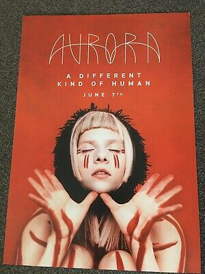 Aurora - Double-sided Promo Poster - Different Kind Of Human - Official Issue • 9.99£