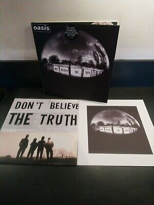 Oasis Dont Believe The Truth Vinyl Ltd Edition Number 1631 Liam Noel Gallagher  • 18£