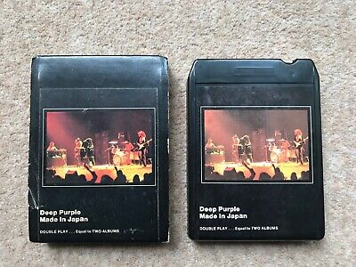 Deep Purple ‎– Made In Japan - USA 8 Track Cartridge • 39.50£