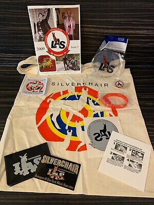 Silverchair Fan Club LAS Merchandise Bundle Young Modern 2009  RARE • 34.99£