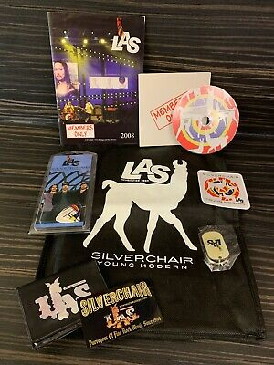 Silverchair Fan Club LAS Merchandise Bundle Young Modern 2008  RARE • 34.99£