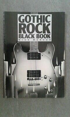 Gothic Rock Black Book Mick Mercer Feat, The Sisters Of Mercy Etc • 8£