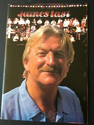 JAMES LAST & HIS ORCHESTRA - 1987 Official Programme • 4£