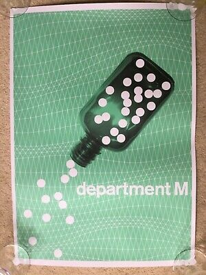 "Limited Edition ""Department M"" Poster • 14.50£"