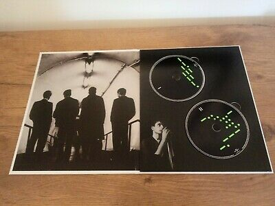 JOY DIVISION FACTORY RECORDS 2 X PROMO CD HARD COVER PETER SAVILLE ONLY 300 MADE • 70£