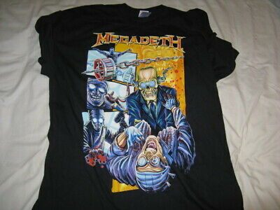 Original Megadeth Short Sleeve T Shirt XL Size Endgame • 7.50£