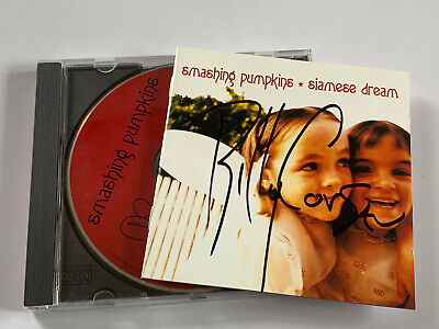 The Smashing Pumpkins Siamese Dream CD  ( SIGNED AUTOGRAPHED ) By Billy Corgan • 30£