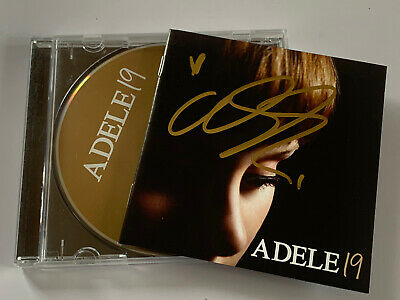 Adele 19 - Original 2008 XL Recordings CD Album ( SIGNED AUTOGRAPHED ) By ADELE • 35£
