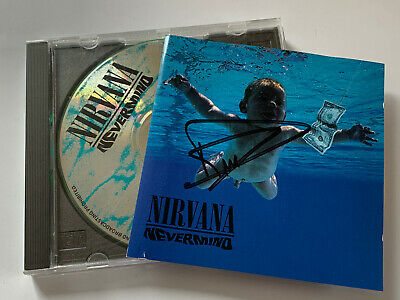 Nirvana - Nevermind Original 1991 CD Album ( SIGNED AUTOGRAPHED ) By Dave Grohl • 28£