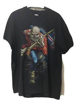Vintage Iron Maiden The Final Frontier World Tour T Shirt Size Large • 20£