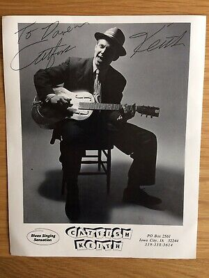 Catfish Keith - Signed Official Promo Photo (large) • 2£
