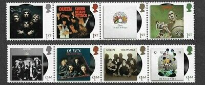 Queen-2020 Freddie Mercury -postage Stamp Set-Great Britain • 14.95£