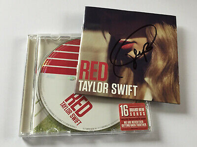 Taylor Swift - Red Original 2012 CD Album ( SIGNED AUTOGRAPHED ) By Taylor Swift • 45£