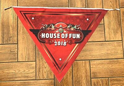 Large Madness House Of Fun Bunting / Flag. Brand New, Ska. 2 Tone. Two Tone. • 6£