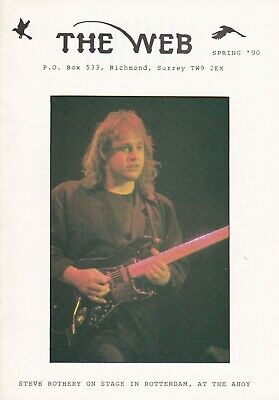 Marillion - The Web Fanclub Magazine Spring '90 • 2.50£