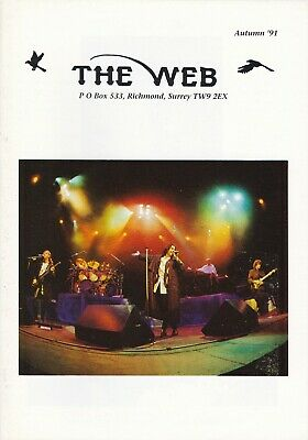 Marillion - The Web Fanclub Magazine Autumn '91 • 2.50£