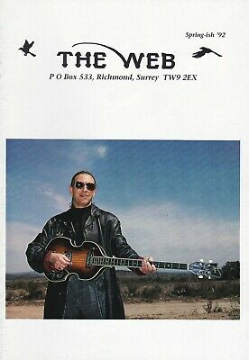 Marillion - The Web Fanclub Magazine Spring-ish '92 • 2.50£