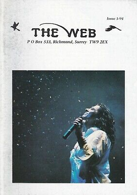 Marillion - The Web Fanclub Magazine Issue 1-93 • 2.50£
