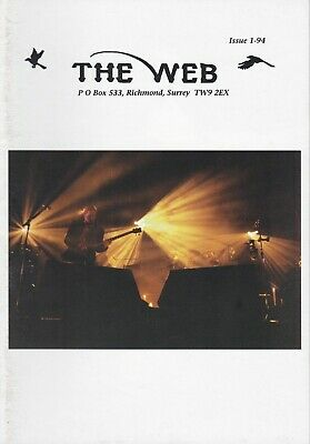 Marillion - The Web Fanclub Magazine Issue 1-94 • 2.50£
