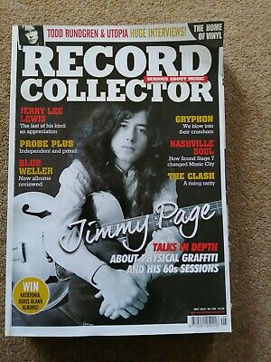 JIMMY PAGE Led Zeppelin The Clash Todd Rundgren RECORD COLLECTOR May 2015 • 13£