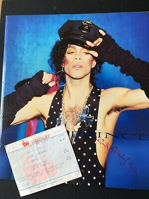 PRINCE - LOVESEXY '88 Official Programme And Wembley Arena Ticket • 10£