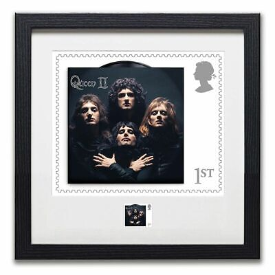 Queen - Framed Bohemian Rhapsody Print Enlargement & Stamp Limited Edition Set • 195£