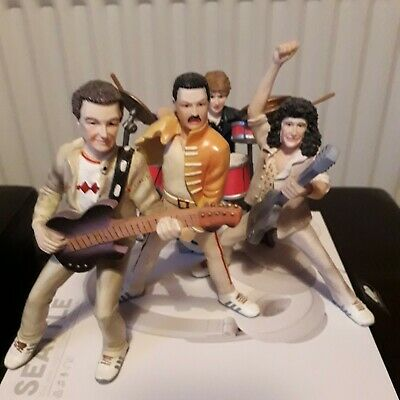 QUEEN - Band Figures - Hard Resin From Spain 13cm. • 52.99£