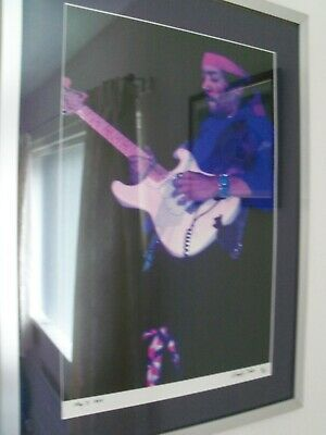 Jimi Hendrix A3 Size Colour Picture Maple Leaf Gardens Toronto May 3rd1969 • 250£