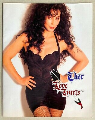 Cher * Love Hurts Tour Programme * 1992 * Htf! • 45£
