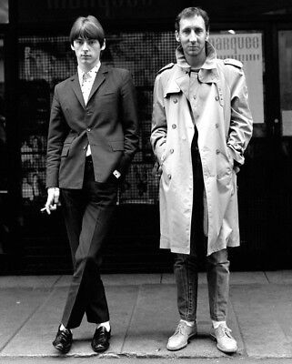 Paul Weller And Pete Townshend UNSIGNED 10  X 8  Photo - M8811 - NEW IMAGE!! • 2.99£