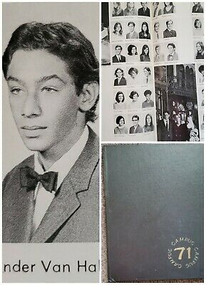 Alex Van Halen  Senior High School Yearbook  Drummer • 311.70£