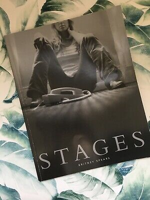 Britney Spears  Stages  Book - DVD - Fold Out Poster • 34.99£