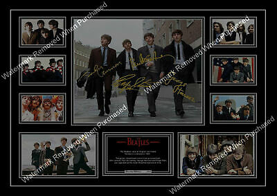 The Beatles Signed Limited Edition A4 Autographed Photo Print • 7.89£