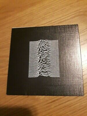 Joy Division Unknown Pleasures - CD - FACD10 - Car Carry Case Only • 30£