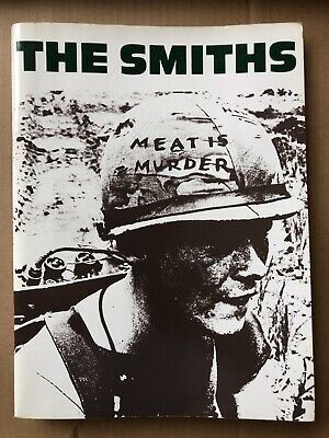 RARE The Smiths Meat Is Murder Songbook • 11£