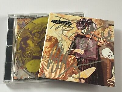 Green Day Insomniac 1995 CD Album Fully ( Signed Autographed ) By All 3 Members • 30£