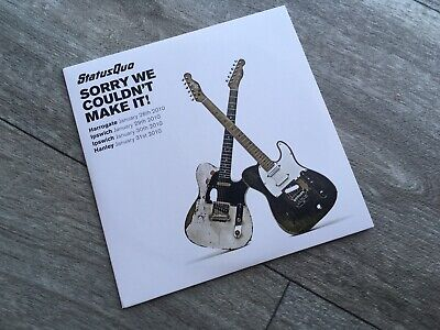 Status Quo Sorry We Couldn't Make It CD RARE Limited • 10£